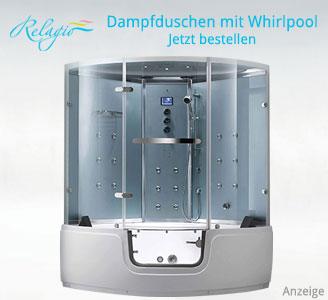 Dampfdusche Mit Whirlpool | Ihr Berater Zum Kauf Einer ... Funktionen Vom Whirlpool Uberblick